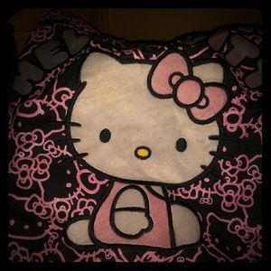 Hello Kitty purses three of them an umbrella